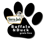 Buffalo and Duck No Grain Formula (dry dog food)